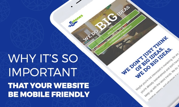Why it's so Important that Your Website be Mobile Friendly