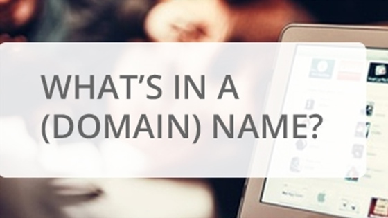 What's In A (Domain) Name?