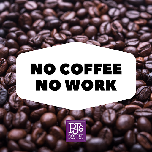 PJs Coffee social graphic example