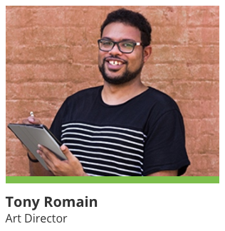 Tony Romain - 5 Stones Art Director